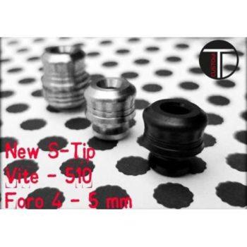S-Tip a Vite in Acciaio INOX foro 5mm by TDCustom