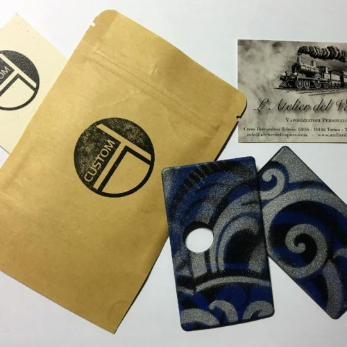 TDCustom - Sportelli Oriente Limited Edition colore blu argento