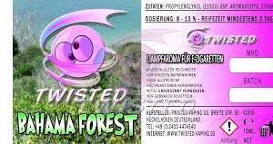 TWISTED 10ML - BAHAMA FOREST