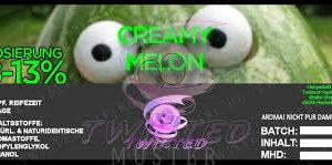 TWISTED 10ML - CREAMY MELON