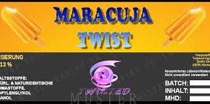 TWISTED 10ML - MARACUJA TWIST