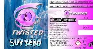 TWISTED 10ML - SUB ZERO