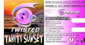 TWISTED 10ML - TAHITY SUNSET