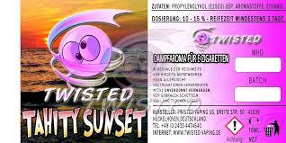 TWISTED 10ML - TAHITY SUNSET