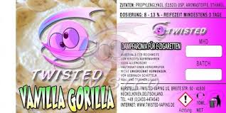 TWISTED 10ML - VANILLA GORILLA