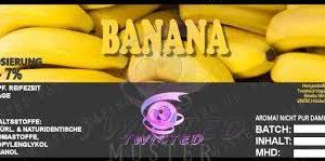 TWISTED 10ML - BANANA