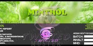 TWISTED 10ML - MINTHOL