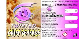 TWISTED 10ML - CHIEF REVERSE