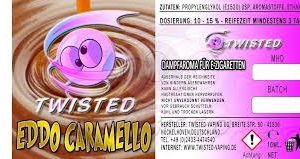 TWISTED 10ML - EDDO CARAMELLO