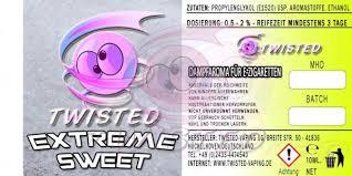 TWISTED 10ML - EXTREME SWEET