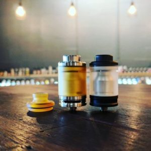 The Tanko 24mm RTA Black limited Edition - Odis Collection - Black