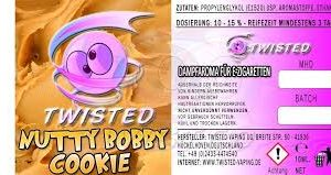 TWISTED 10ML - NUTTY BOBBY COOKIE