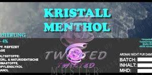 TWISTED 10ML - KRISTALL MENTHOL
