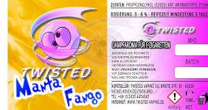 TWISTED 10ML - MANTA FANGO
