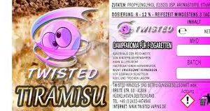 TWISTED 10ML - TIRAMISU