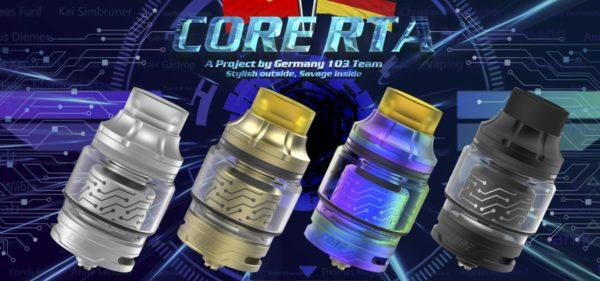 Core RTA 2ML - Vapefly colore nero