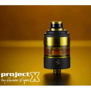 Project X – Black/Gold – Hussar Vapes