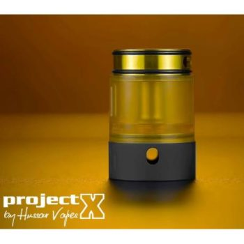Project X – Extended Kit Black/Gold – Hussar Vapes
