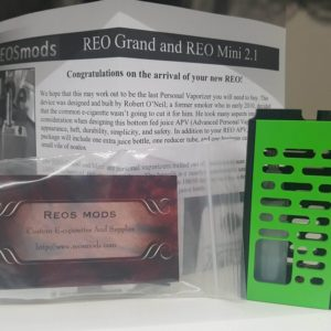 REOS MODS - Reo Grand LP/SL - Black Wrinkle/Kawasaki Green