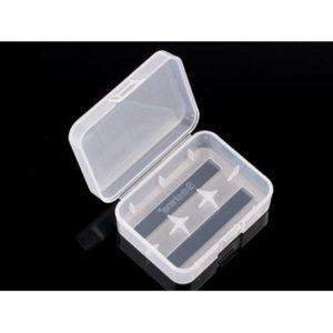 Scatola di plastica per 2x 18500 o 3x 16340 trasparente