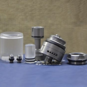 BY-ka v.8 RTA MTL Basic Nano Set - Vape Systems colore Brushed