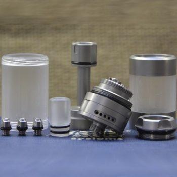 BY-ka v.8 RTA MTL Medium Standard Set - Vape Systems colore Brushed