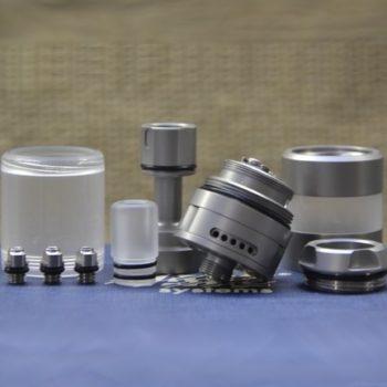 BY-ka v.8 RTA MTL Medium Nano Set - Vape Systems colore Brushed