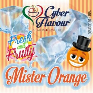 Aroma Mr Orange Fresh and Fruity 10ml - Cyber Flavour