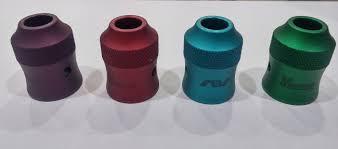 ModFather Cap Alluminio Tinta Unita - Avid Lyfe ROSSO