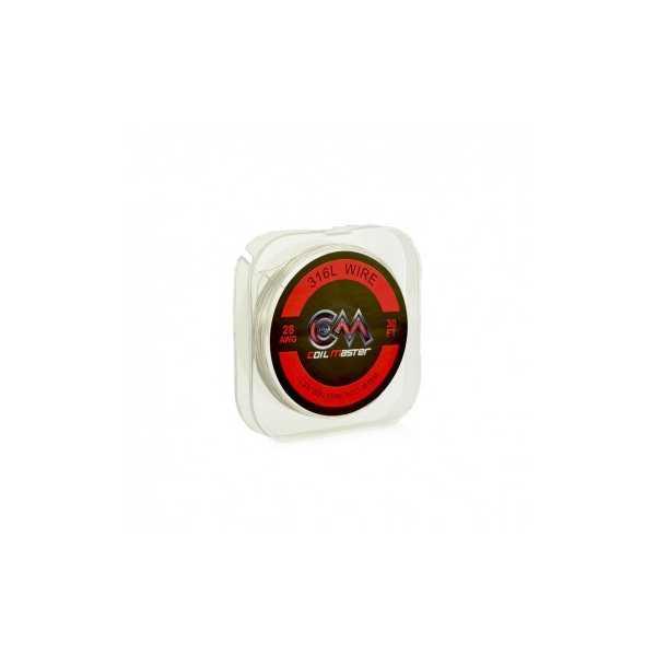 316L WIRE - 24GA 30FT - COIL MASTER