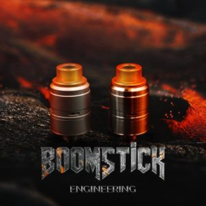 Boomstick RDA – Boomstick Engineering Full Kit - Brushed