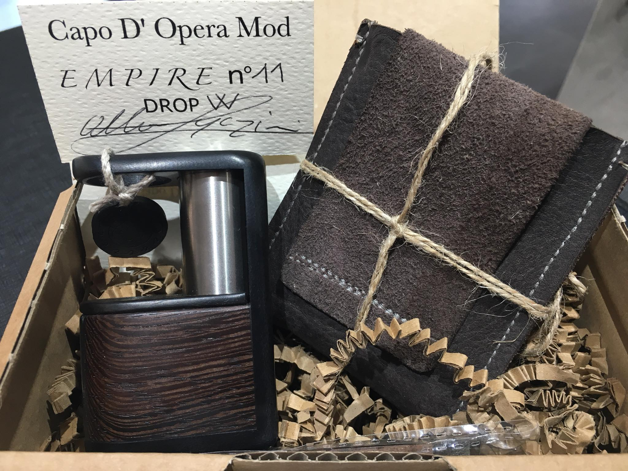 Empire Box by Capo D'Opera Mod modello DROP W