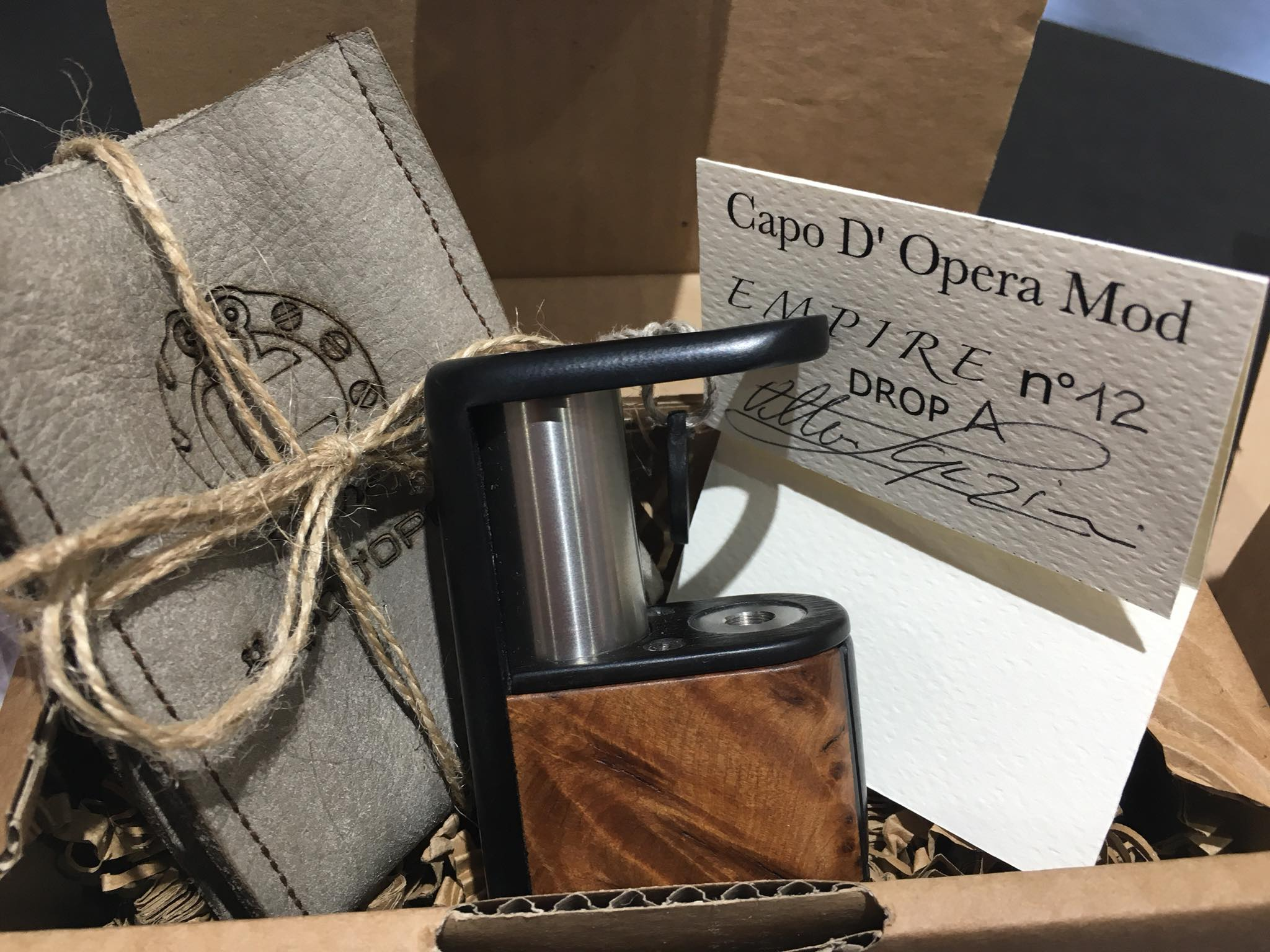 Empire Box by Capo D'Opera Mod modello DROP A