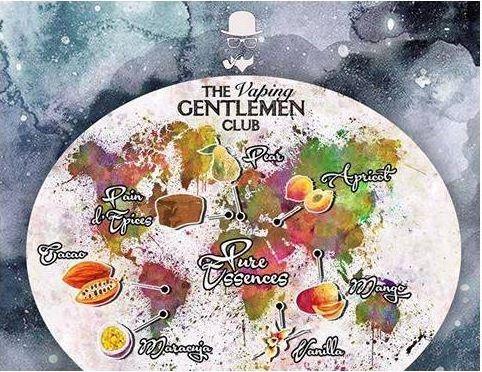 Aroma The Vaping Gentlemen - Torrone - Pure Essences