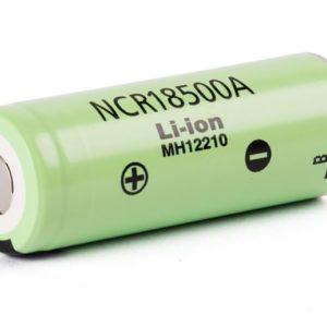 Panasonic NCR18500A 2040mAh 3,6 V - 3,7 V