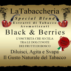 AROMA LA TABACCHERIA Special Blend – Black & Berries 10ml