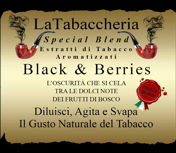 AROMA LA TABACCHERIA Special Blend – Black & Berries 10ml