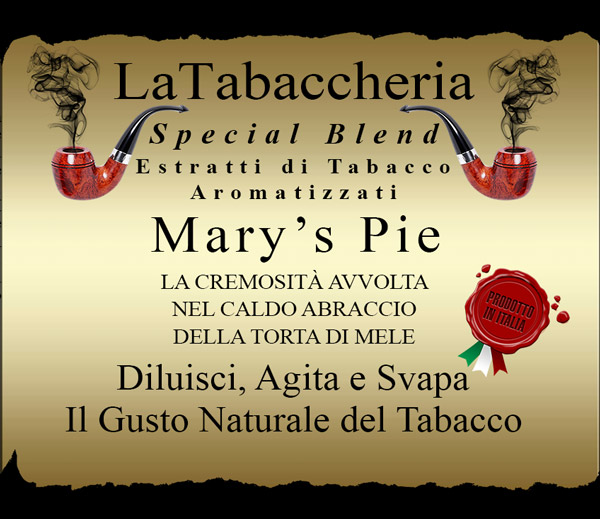 AROMA LA TABACCHERIA Special Blend – Mary's Pie 10ml