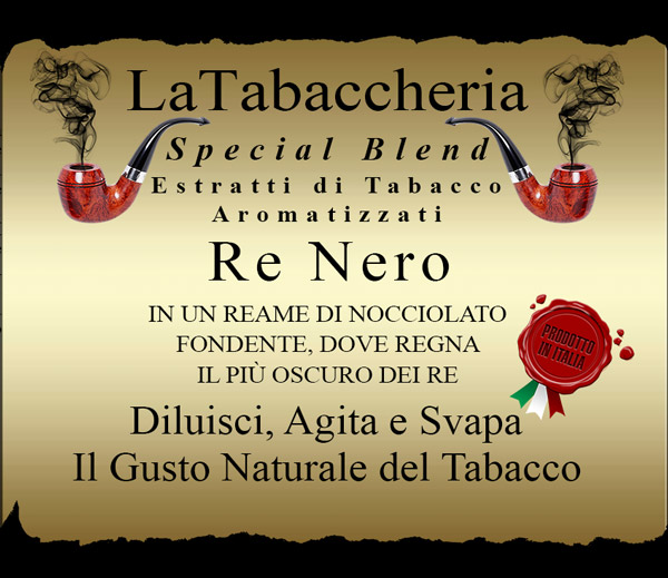 AROMA LA TABACCHERIA Special Blend – Re Nero 10ml