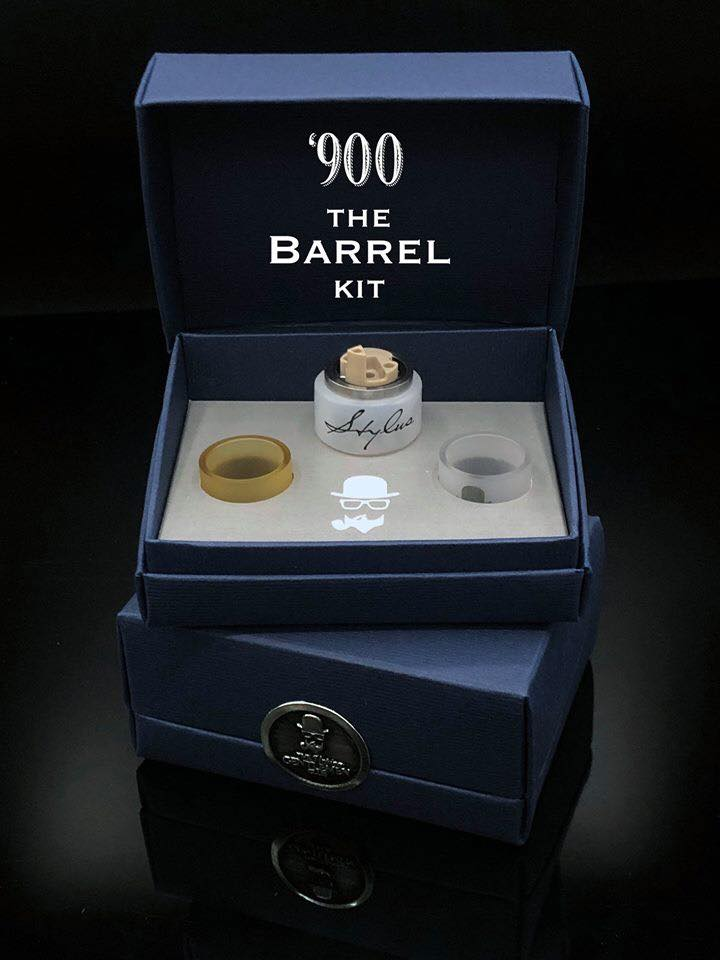 Barrel Kit per Atomizzatore 900 - The Vaping Gentlemen