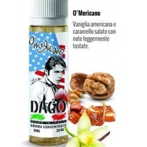Aroma Concentrato O mericano 20ml Grande Formato - Dago