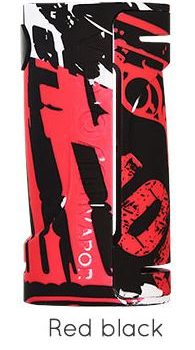 Eco Box Mod 90w - Vapor Storm colore Black red