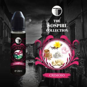 Aroma Concentrato Sospiri 20ml Grande Formato - TDCustom Sweet