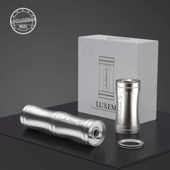 LUXEM TUBE MOD 18350/18650 - AMBITION MOD - Silver