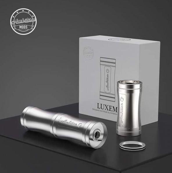 LUXEM TUBE MOD 18350/18650 - AMBITION MOD - Silver