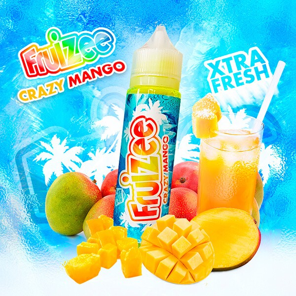 Aroma Concentrato Fruizee Crazy Mango 20ml Grande Formato - Eliquid France