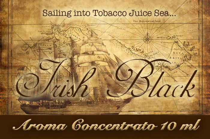 Irish Black – Selection Aroma di Tabacco concentrato 10 ml