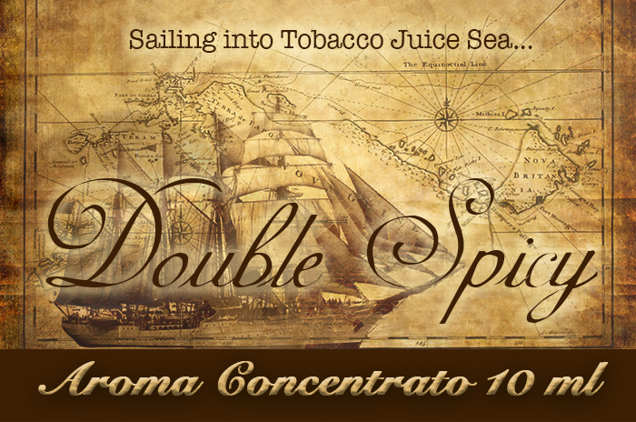 Double Spicy – Selection Aroma di Tabacco concentrato 10 ml by Blendfeel