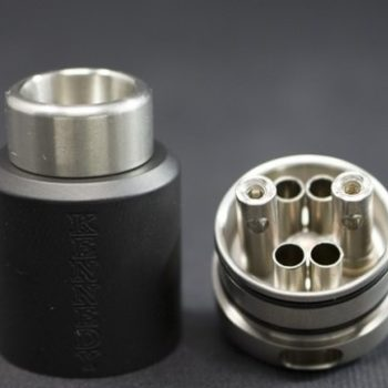KENNEDY 25 dual post NERO/OTTONE BY Kennedy Vapor