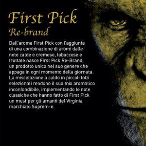 Aroma Concentrato First Pick Re-Brand 20ml Grande Formato - Suprem-e